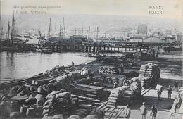 BAKOU - Le Quai Petrovski - Azerbeidzjan