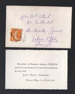 Valence D'Agen (82 Tarn Et Garonne) Faire Part De Naissance Jane NODION  1922 (PPP21176) - Geburt & Taufe