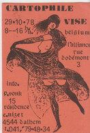 Visé  Carte Invitation Salon Carte Postale  1978 - Visé