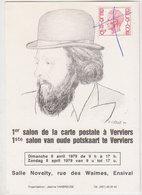 Verviers  Carte Invitation Salon Carte Postale  1979 - Visé
