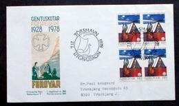 Faroe Islands  1978   Girl Scouts   MiNr.41  FDC   ( Lot Ks - Färöer Inseln