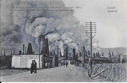 BAKOU - Les Trois Fontaines à Bibi-Eibat En Flammes En Septembre 1903 - Azerbeidzjan