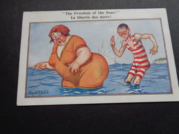 Illustrateur ( 1909 )   Donald Mc Gill   Baigneuse  Baadster - Mc Gill, Donald