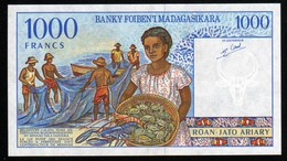 Madagascar 1998 1000 Francs UNC Neuf Parfait - Madagaskar