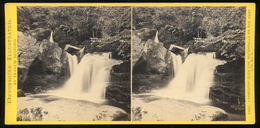 Stereoview - No. 2433. Lynmouth - Glen Lyn. DEVON By Francis Bedford - Stereoscopi