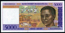 Madagascar 1998 5000 Francs UNC Neuf Parfait - Madagascar