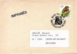 BELGIQUE. Flamme De 1995 Sur Enveloppe Ayant Circulé. World Dog Show. - Hunde