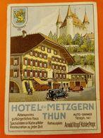Thun Hotel Metzgern Und Auto Garage - BE Berne