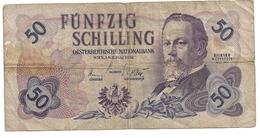 Autriche 50 Schilling 2 Juli 1952 - Austria