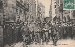 CPA:DÉPART DES FORÇATS PASSAGE DE LEBORRE EMPOISONNEUR DE BLOIS LA ROCHELLE (17)..ÉCRITE - La Rochelle