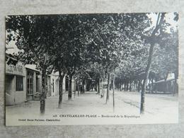 CHATELAILLON PLAGE       BOULEVARD DE LA REPUBLIQUE - Châtelaillon-Plage