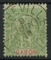 Gabon (1904) N 19 (o) - Oblitérés