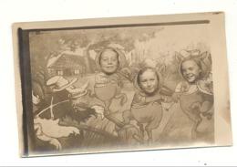"""Photo Carte Humoristique - Dessin Animé """" Les 3 Petits Cochons """" Surréaliste, Humour, Surréalisme,...1934 (b269) - Humor"""