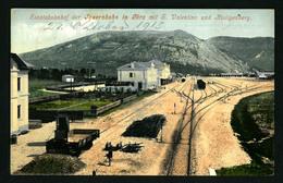 1915 GORICA Novi Kolodvor - GORIZIA  - GORZ Bahnhof * Railway Station * Italy Italia Slovenia Train - Gorizia