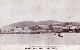 B62079 Cpa From The Sea Freetown - Sierra Leone - Sierra Leone