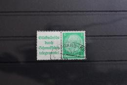 Deutsches Reich Zd W88 Gestempelt Zusammendrucke #RL814 - Zusammendrucke