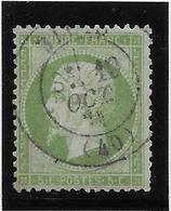 France N°20 - Oblitéré - B/TB - 1862 Napoleon III