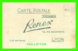 ADVERTISING, PUBLICITÉ - RENEX, LYON - DEMANDE DE DOCUMENTS - - Publicité