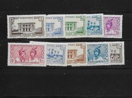 Martinique N° 175 à 185** Sans Le 180 - Neufs