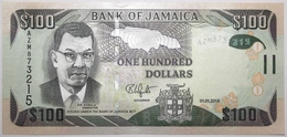 Jamaïque - 100 Dollars - 2014 - PICK 95a - NEUF - Jamaica