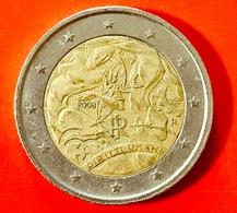 ITALIA - 2008 - Moneta - 60 Anni Della Dichiarazione Universale Dei Diritti Dell'uomo - Euro - 2.00 - Italia
