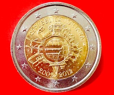 ITALIA - 2012 - Moneta - 10 Anni Delle Banconote E Monete In Euro - Euro - 2.00 - Italia