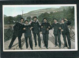 CPA - La Vie Du Marin - Joyeux Permissionnaires - Guerra