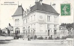 Montargis (Loiret) - La Caisse D'Epargne - Carte C.F.M. - Banks