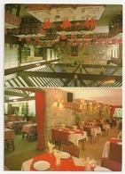 PUBLICITE - Belgique, Le Pavillon Des Grottes, Restaurant, Taverne, Crêperie. Tél.: 084/37.73.90. - Etiquettes D'hotels
