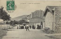 LA VOULTE  Sortie De L'Usine Pontin  1909 - La Voulte-sur-Rhône