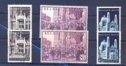 Nrs. 876/878 Gestempeld +  Postgaaf ** MNH Zeer Mooi - Belgique