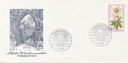 Germany Cover HIMMELSTHÜR With Cachet 24-12-1975 - Christmas