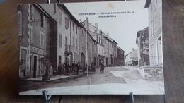 CPA. COUSANCE.(39 Jura) Commencement De La Grande Rue (S48.19) - France