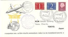 Premier Vol Transpolaire Amsterdam/Tokyo - 9 Août 1961 - Flugzeuge