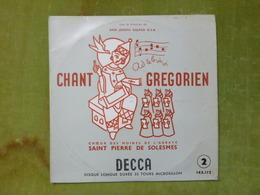 CHANT GREGORIEN - Choeur Des Moines De L'abbaye Saint Pierre De Solesmes - Gospel & Religiöser Gesang