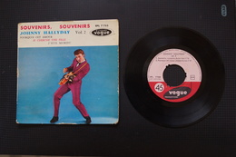 JOHNNY HALLYDAY SOUVENIRS SOUVENIRS EP 1960 VARIANTE VALEUR + - 45 Rpm - Maxi-Single