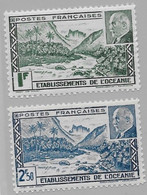 Océanie N°138-139** - Oceanië (1892-1958)
