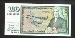 ISLANDA - NATIONAL BANK - 100 KRONUR (1986) - Islanda