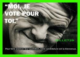 ADVERTISING - PUBLICITÉ - JE VOTE POUR TOI,ORG - CART'BLANCHE - - Publicité