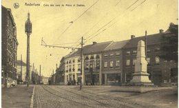 ANDERLUES  Coin Des Rues De Mons Et Station. - Anderlues