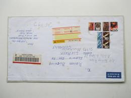 Hong Kong 2002 Registered Letter / Einschreiben Nach Lübeck Air Mail Mit 20 Dollar Marke! - 1997-... Chinese Admnistrative Region