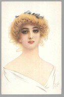 Cpa...illustrateur...Drog...art Nouveau...portrait De Femme... - Illustrateurs & Photographes