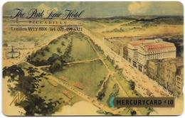 UK (Mercury) - Park Lane Hotel (Shallow Notch), 20MERΕ - MER088a, 5.335ex, Used - Reino Unido