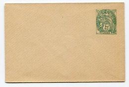 RC 14694 CHINE ENTIER CARTE DE VISITE 5c TYPE BLANC TB - China (1894-1922)