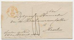 Den Helder - Haarlem 1862 - Niederlande