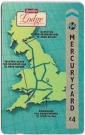 UK (Mercury) - Road Chef, Lodge - 20MERD - MER151, 4£, 19.856ex, Used - Reino Unido