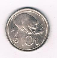 10 TOEA 1975 PAPOEA GUINEA //8923/ - Papouasie-Nouvelle-Guinée