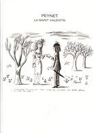DOCUMENT ENCART FDC 1985 SAINT VALENTIN DE PEYNET - Documents De La Poste