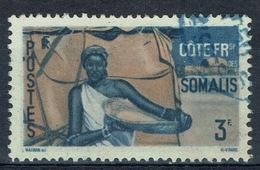 French Somali Coast, 3f., Somali Woman, 1947, VFU - Costa Francesa De Somalia (1894-1967)