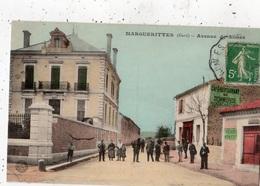 MARGUERITTES AVENUE DE NIMES (CARTE COLORISEE) - France